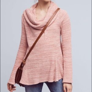 Anthropologie Postmark Cowl Maurisa Sweater Top
